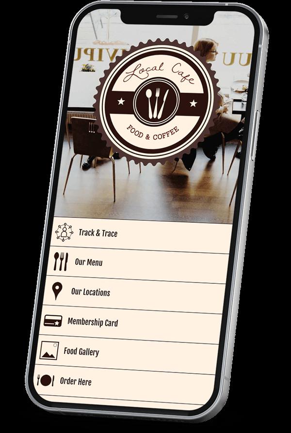 Coffee app builder
