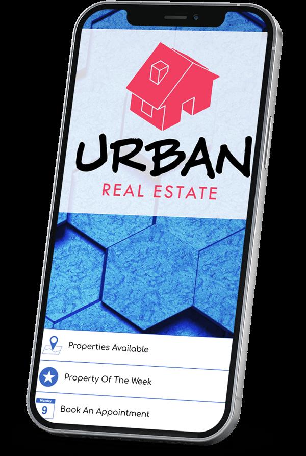 Real estate app builder